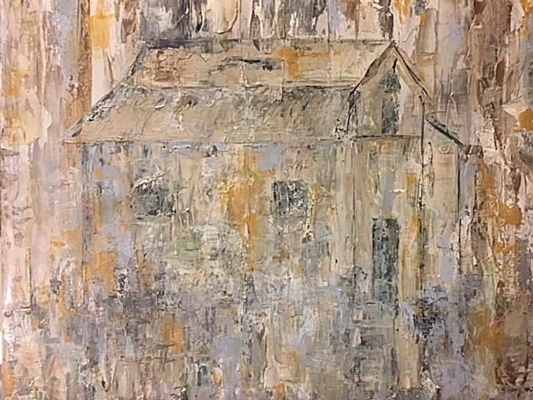 Shabby Chic, Rustic Farmhouse, Original Art