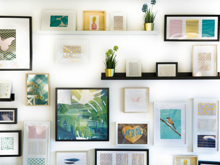 HOW TO DECORATE- Tip# 3 (Creating a gallery wall)