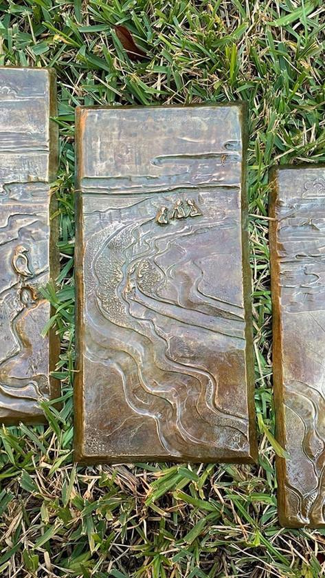 Shoreline Triptych
