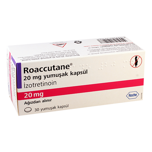 Roaccutane Isotretinoin Roche 20mg 30 caps