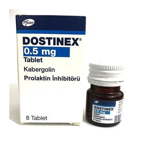 Dostinex Cabergoline 0.5mg 8 Tablet
