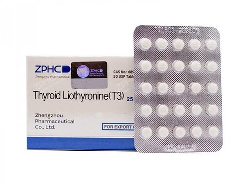 Thyroid Triiodothyronine T3 25 mcg 50pills