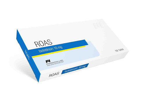 Roas Isotretinoin 10mg 50pills Pharmacom Labs