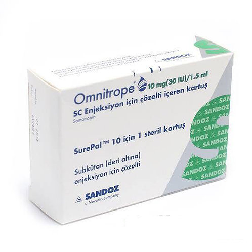 Omnitrope Sandoz HGH 10mg 30 IU SurePal