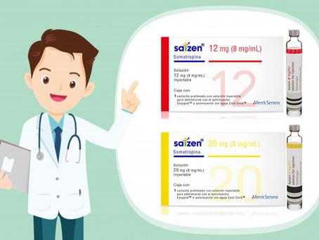 Merck Serono Saizen HGH (Somatropin) Cartridges 12mg (36iu) and 20mg (60iu) in Thailand - ThaiHGH
