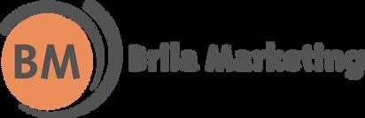 Brila Marketing New Logo 2019 with text.