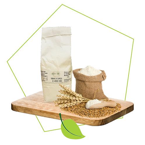 Farina di semola di Grano Duro - 1kg