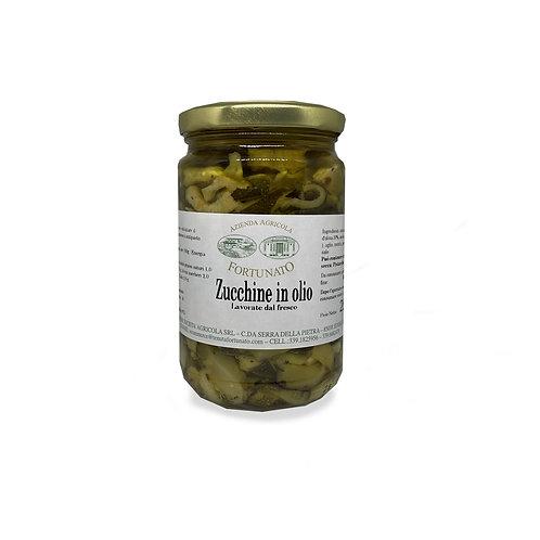 Zucchine Sott'olio - 280gr.