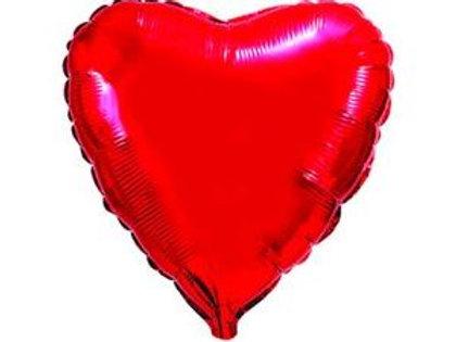 Сердце красное 18д (45см.)
