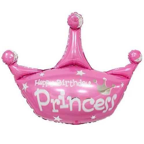 Корона розовая