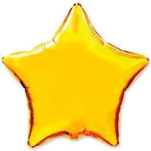 Звезда золотая 18д (45см.)