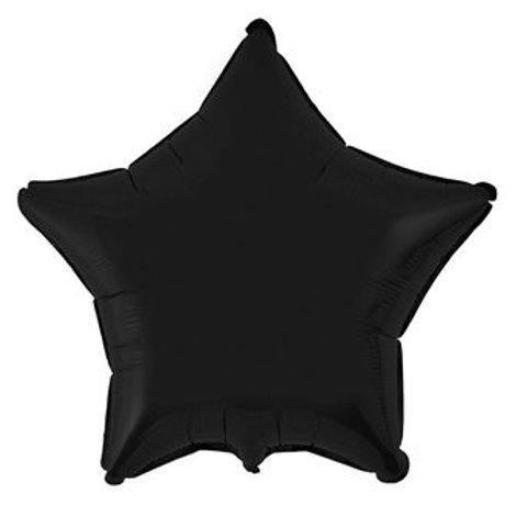 Звезда черная 18д (45см.)