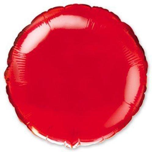 Круг красный 18д (45см.)
