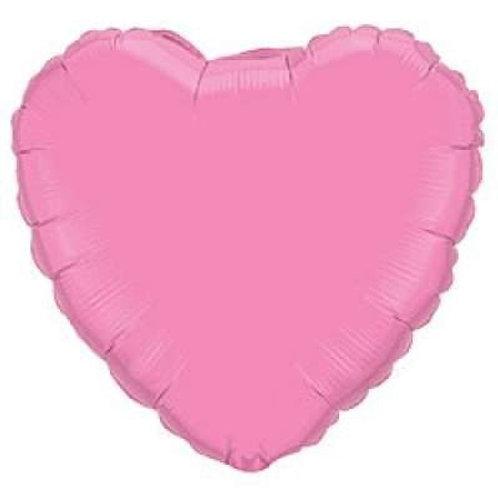 Сердце розовое 18д (45см.)