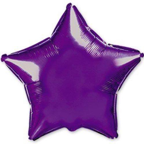 Звезда фиолетовая 18д (45см.)