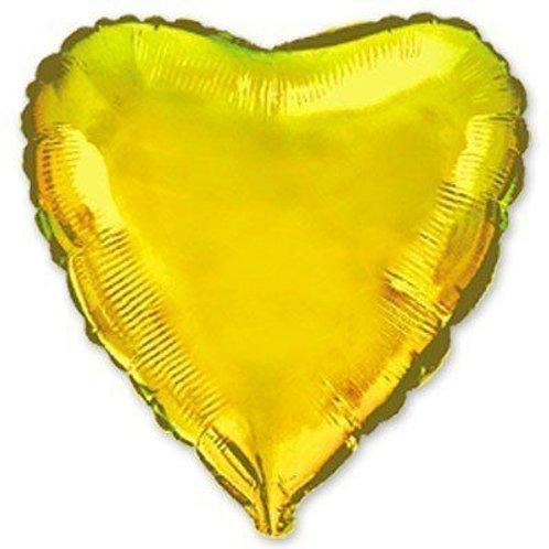 Сердце золотое 18д (45см.)
