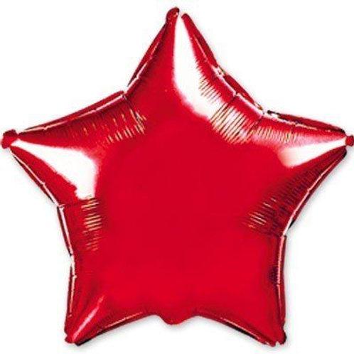 Звезда красная 18д (45см.)