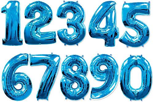 Синие цифры 85см