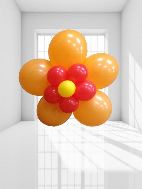 Воздушный цветок 5 лепестков