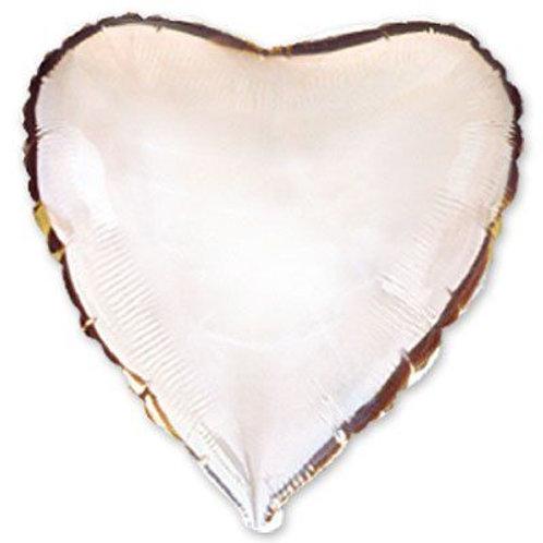 Сердце серебряное 18д (45см.)