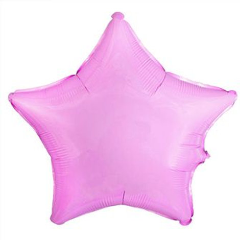 Звезда розовая 18д (45см.)