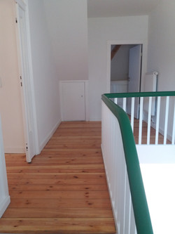 Treppeoben fertig