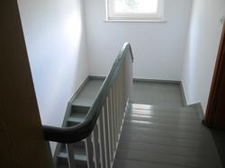 Treppe vorher