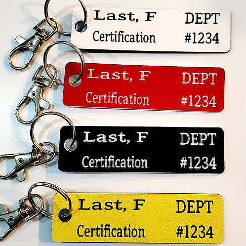 Personnel Accountability Tag