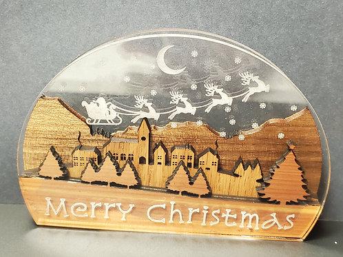 Winter Village ornament