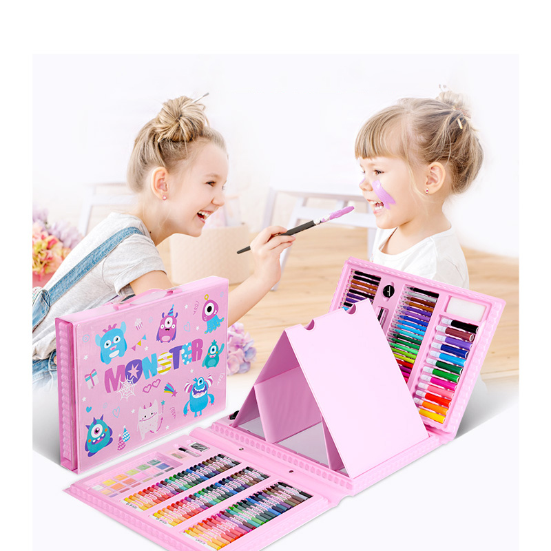176pcs-Kids-Gifts-Painting-Art-Set-With-