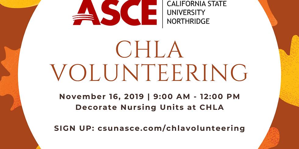 Decorate Children's Hospital Los Angeles with CSUN ASCE