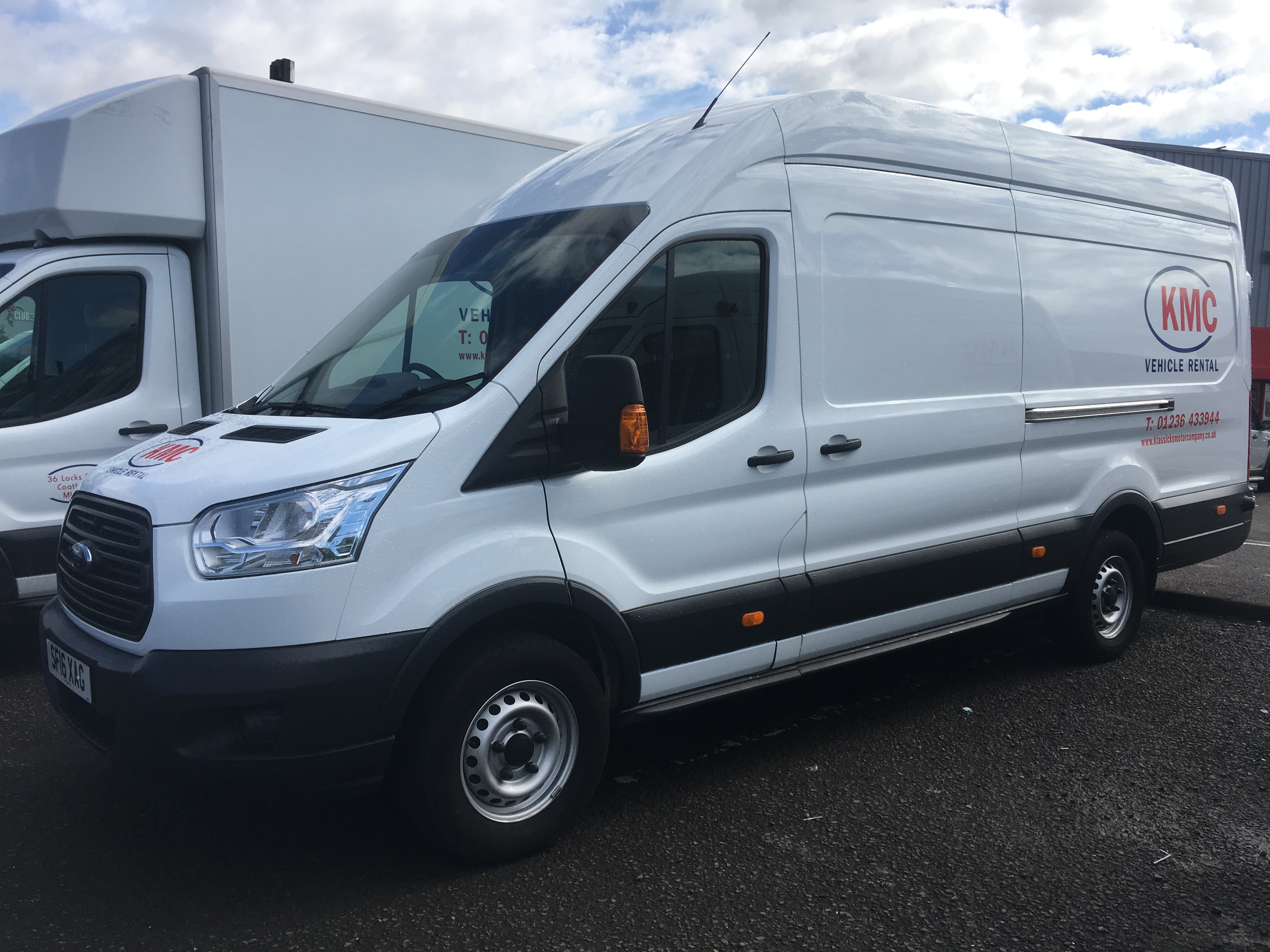 Ford Transit Extra Long Wheel Base