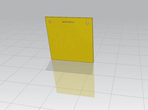Square target 20x20cm