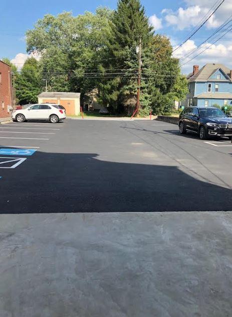 Handicap Accessible Parking Lot