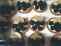 Blackberry and Pear Tartletts