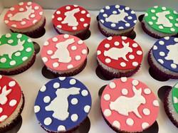 Bunny Themed Cupcakes