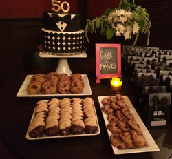 Sweets for a 50th Birthday