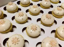 Mini Lemon and Cream Cheese Cupcakes