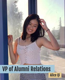 VP of Alumni Relations
