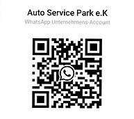 QR Code zum WhatsApp Kontakt des Auto Service Park