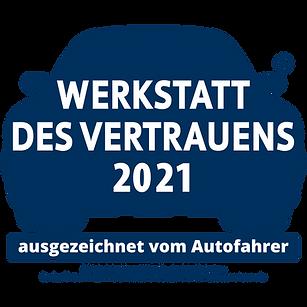 Werkstatt des Vertrauens 2021 vom Autofahrer ausgezeichnet
