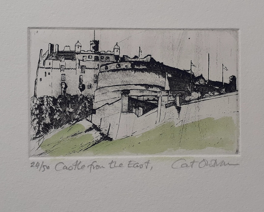 2009 Castle from the East, 24/50