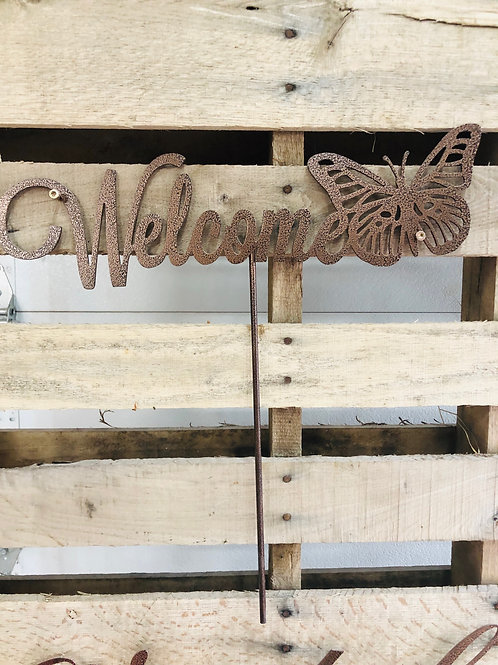 Butterfly Welcome Stake