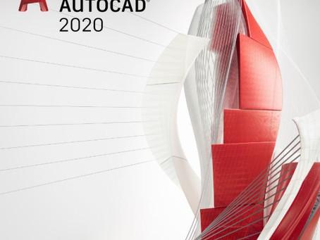 Novedades AutoCAD 2020