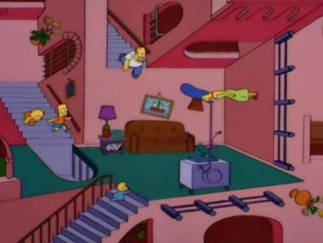 Los Simpson y la representación de escaleras en Revit