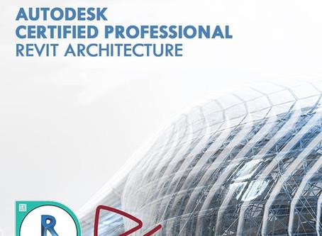 Certificación profesional de Autodesk mejorada