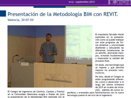Presentación BIM en Colegio Oficial de Ingenieros de Caminos