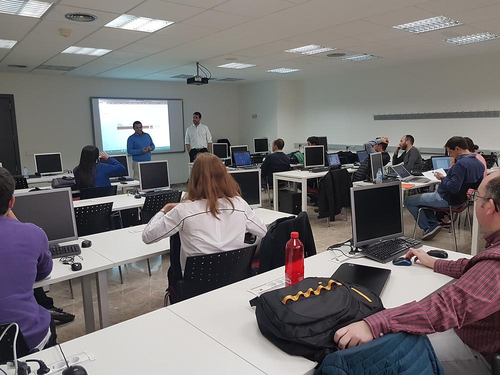Clase en el Master de BIM Manager de la UE Valencia