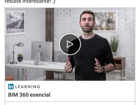Curso de BIM 360 en Linkedin Learning