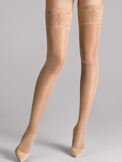 Bas Satin Touch Fairly light WOLFORD